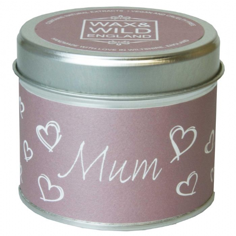 Mum - Thank you Candle In A Tin